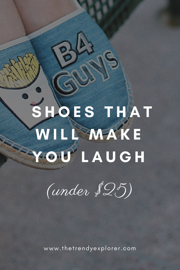 Funny Shoes Under $25