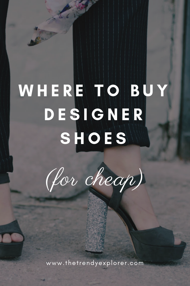 Where to Buy Designer Shoes for Cheap