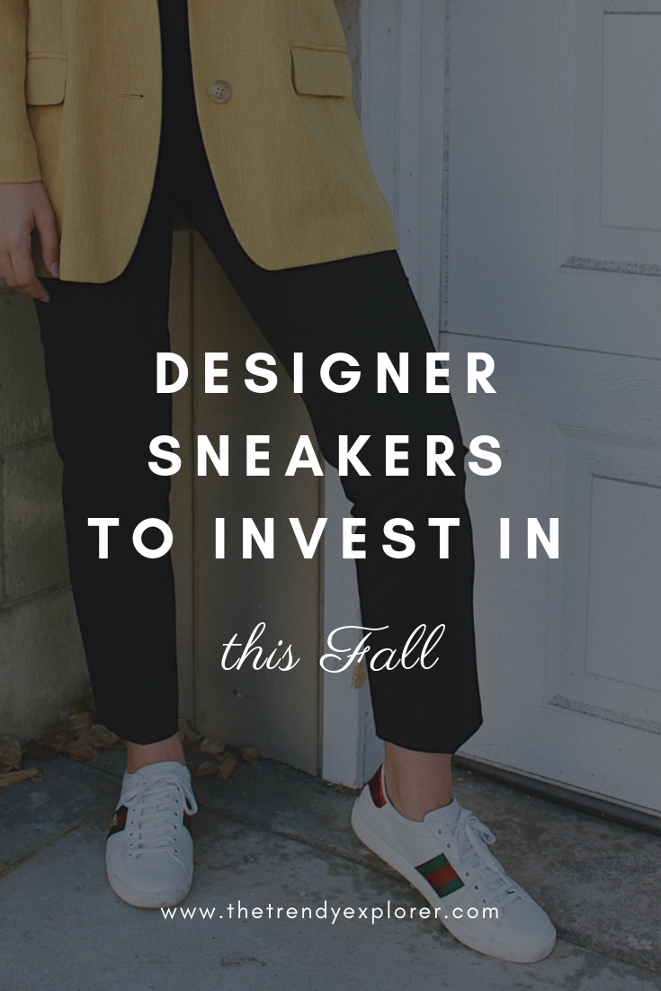 Designer Sneakers to Invest In This Fall