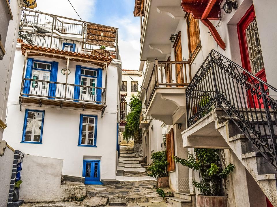 hotel villa donna on Skopelos