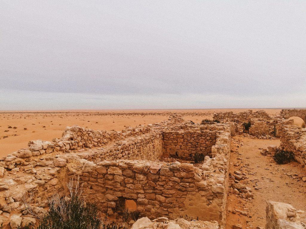 Ksar Ghilane Ruins Tunisia